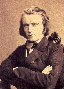 Brahms young