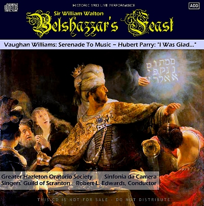Walton Belshazzar's Feast CD cover